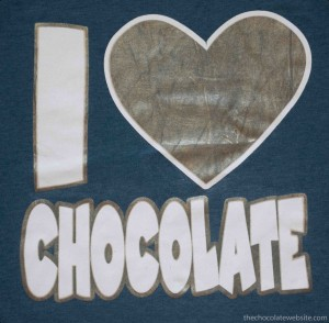 I Heart Love Chocolate T-Shirt