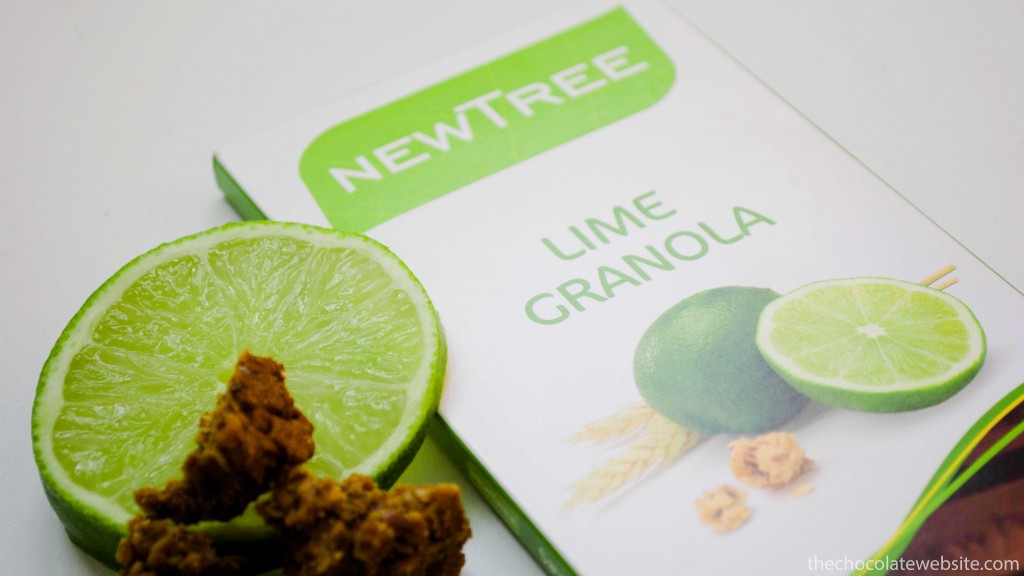 NewTree Lime Granola Chocolate