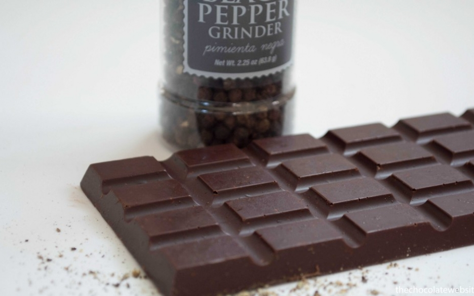 Sander Chocolatier Lemon Pepper Chocolate Bar