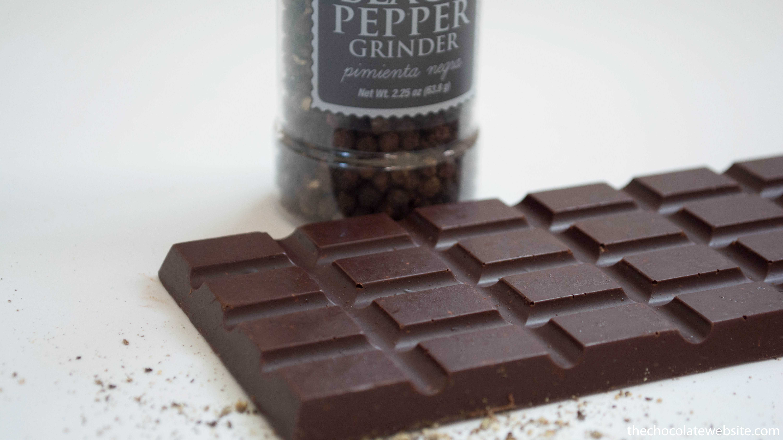 Sander Chocolatier Lemon Pepper Chocolate Bar