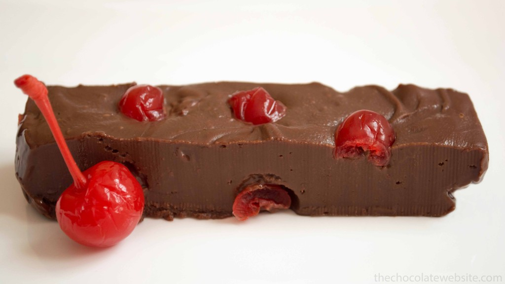 Chocolate Covered Cherry Fudge