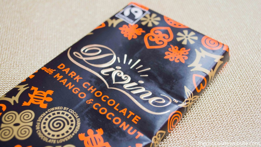 Divine Mango and Coconut Chocolate