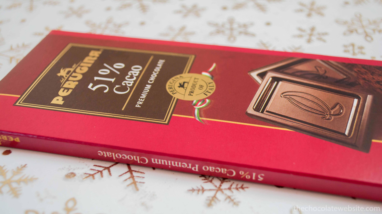 Perugina 51% Cacao Chocolate Bar Wrapper
