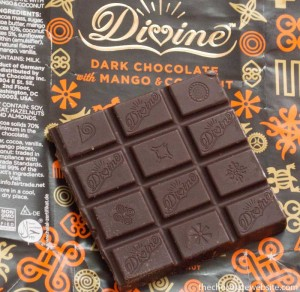 Divine Mango and Coconut Chocolate Unwrapped