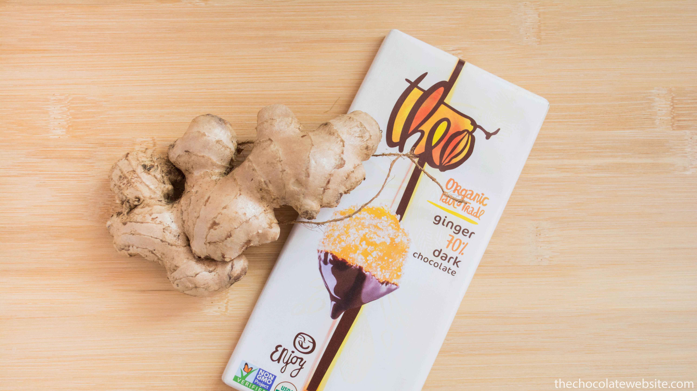 Theo Dark Chocolate with Ginger