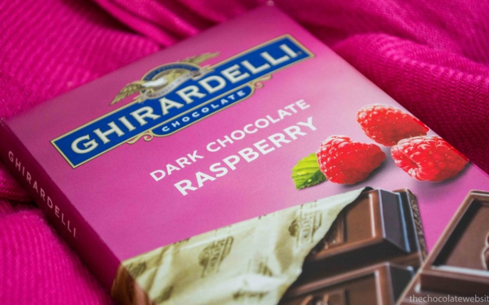 Ghirardelli Raspberry Dark Chocolate