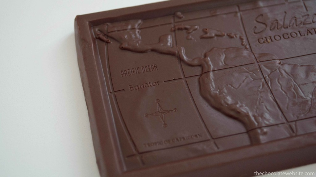 Salazon Caramel Sea Salt Chocolate Map