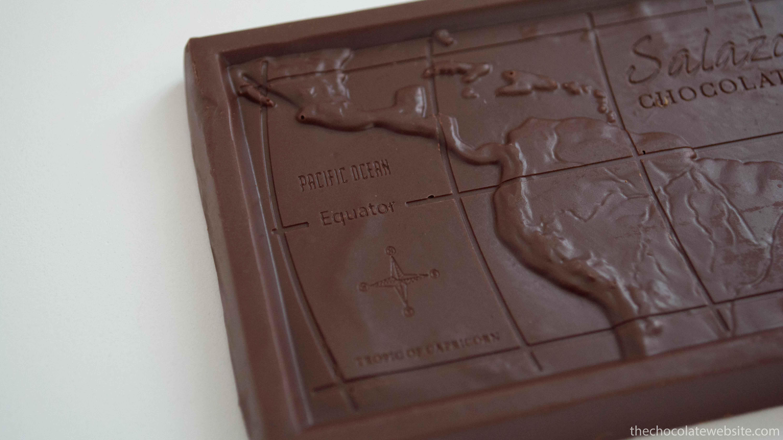 Salazon Caramel Sea Salt Chocolate Map