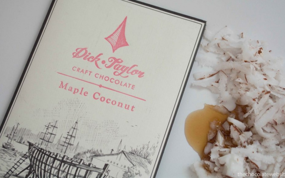 A Whole New World of Chocolate - Dick Taylor Maple Coconut