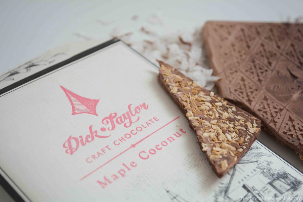 A Whole New World of Chocolate - Dick Taylor Maple Coconut Unwrapped
