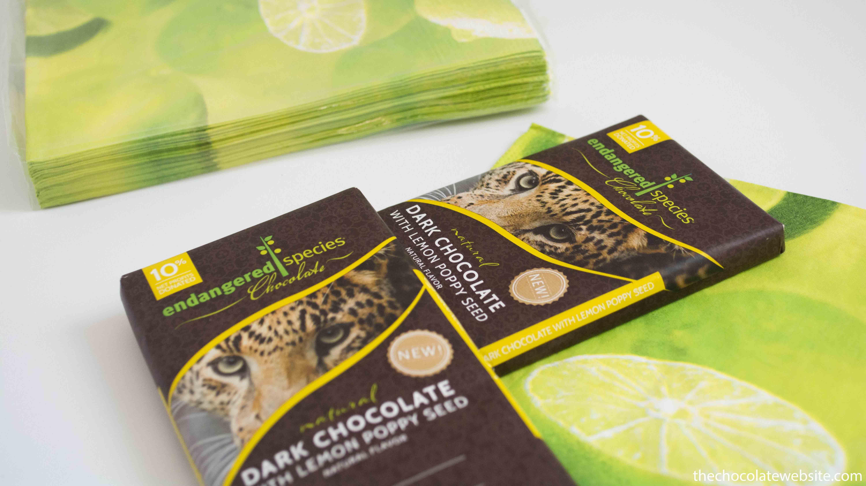 Endangered Species Chocolate - Lemon Poppyseed