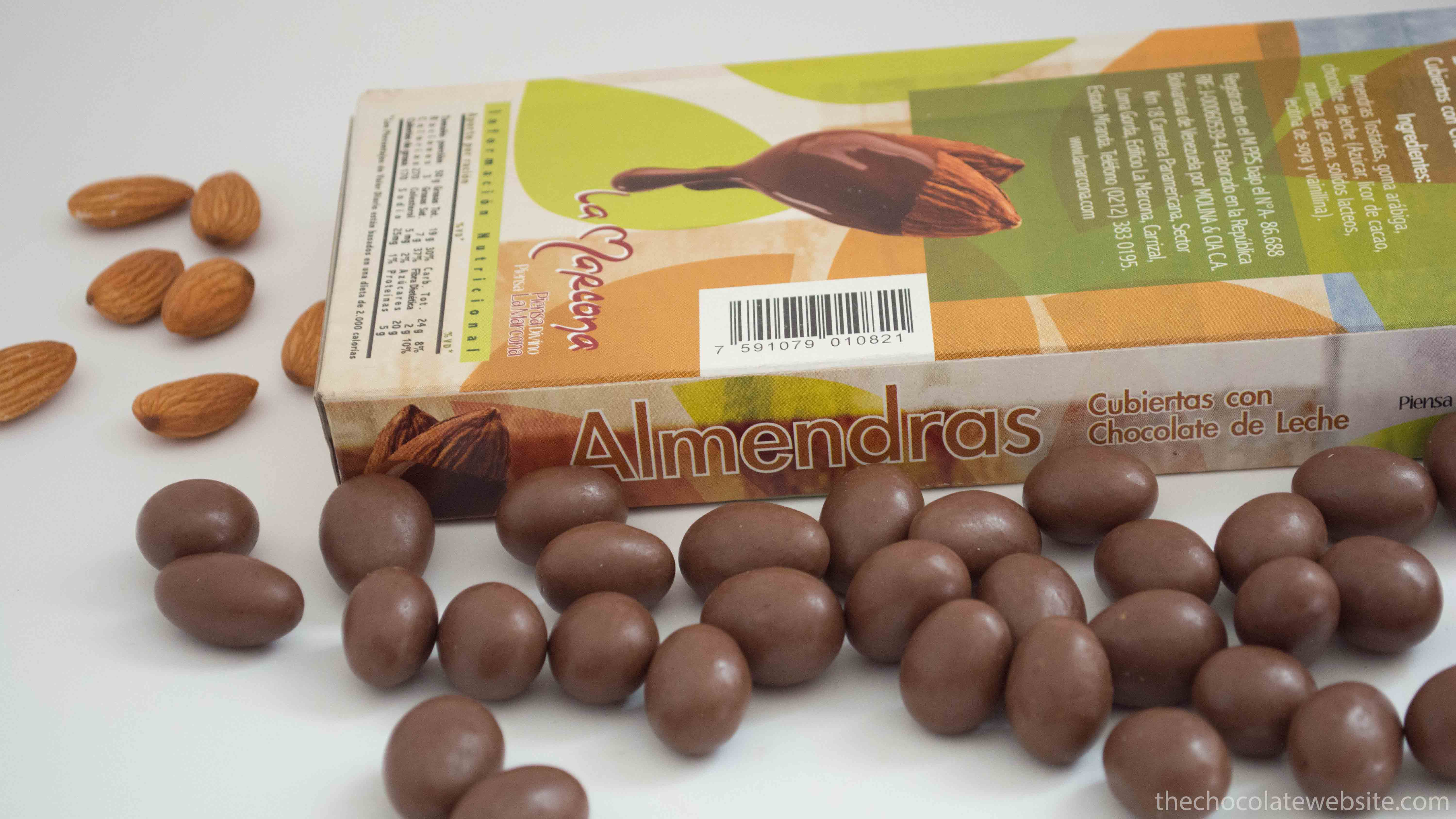 Nuts in Chocolate - La Marcona Chocolate Covered Almonds