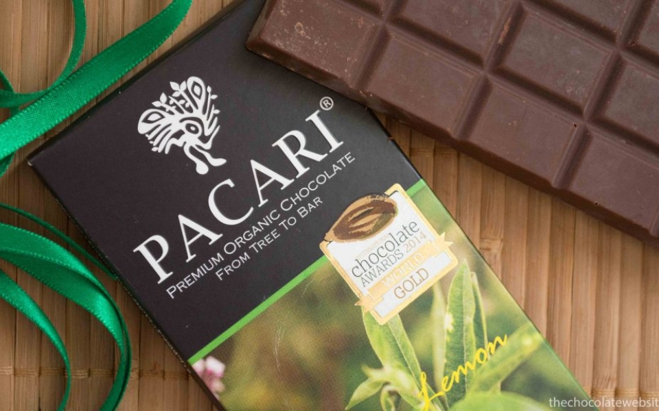 Pacari Andean Lemon Verbena Chocolate Still Life Photo