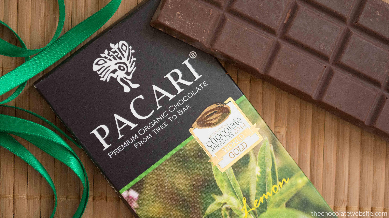 Pacari Andean Lemon Verbena Chocolate Still Life Photo