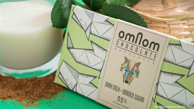 A Neat Thing About Iceland - Omnom Dark Milk Burned Sugar Chocolate