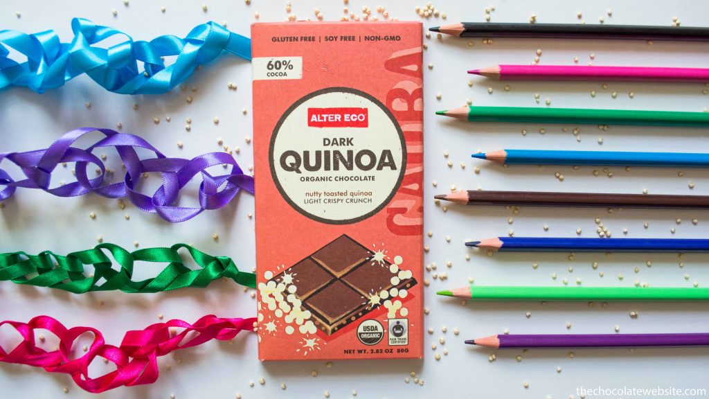 Alter Eco Quinoa Dark Chocolate