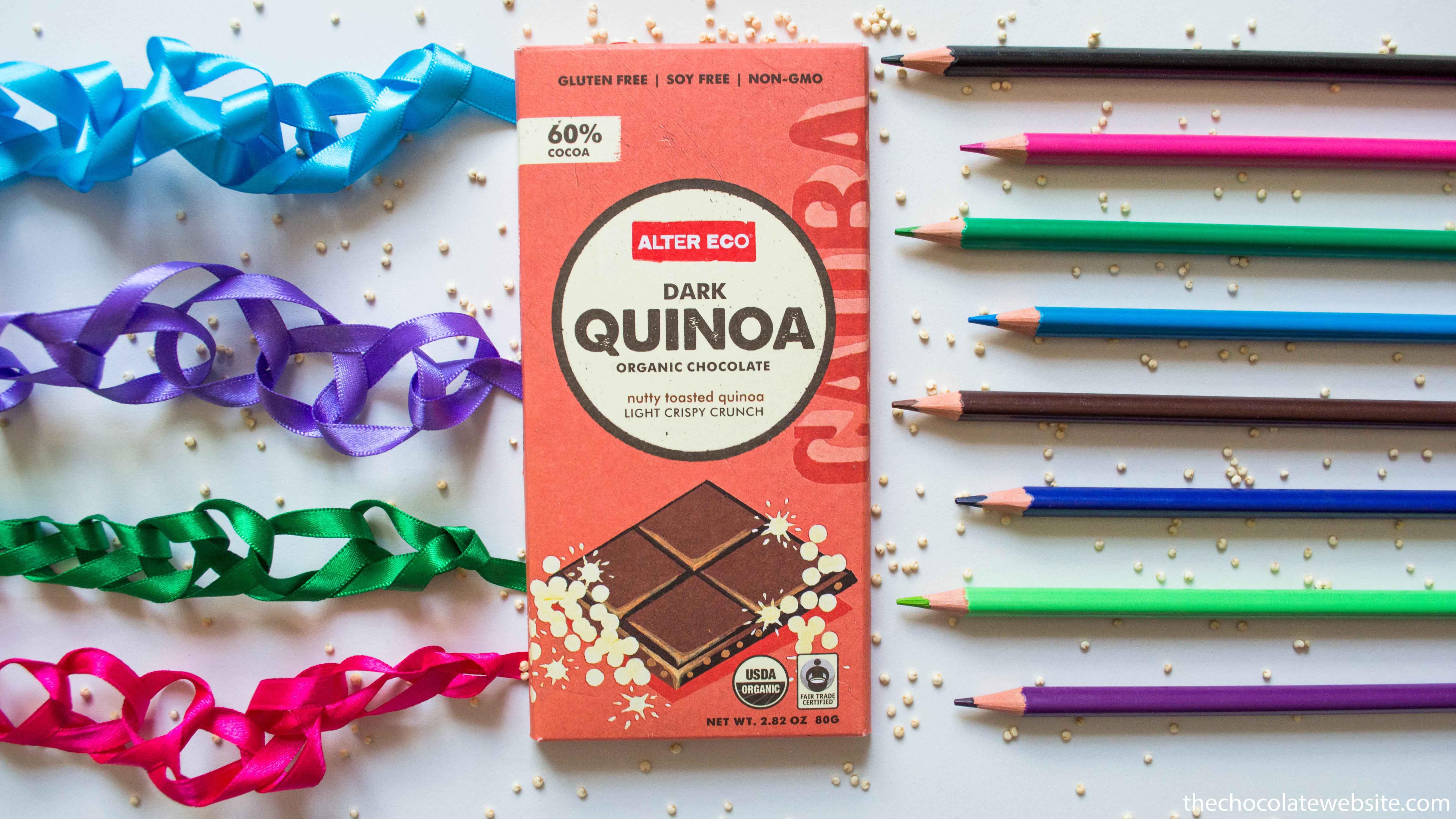 Alter Eco Quinoa Dark Chocolate