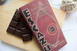 Escazu Goat Milk Chocolate Unwrapped