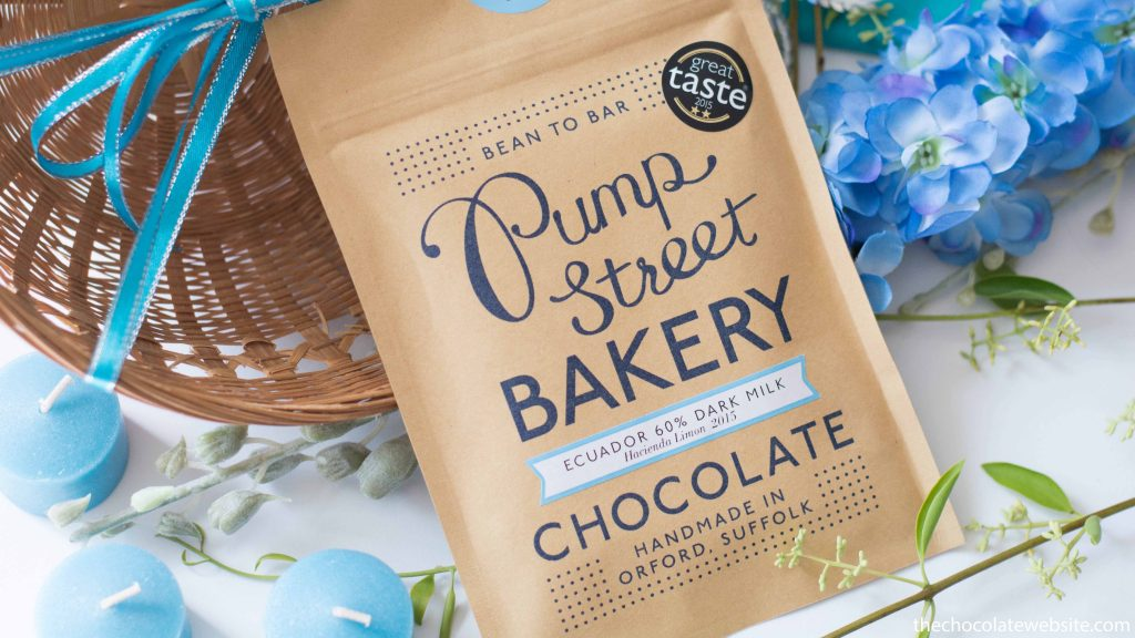 Pump Street Bakery Ecuador 60% Dark Milk Chocolate