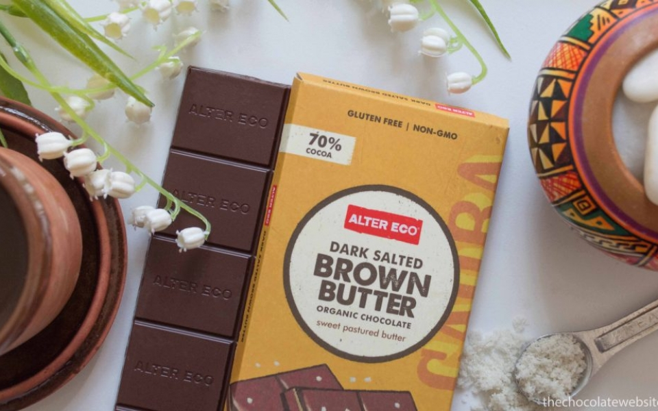 Alter Eco Dark Salted Brown Butter Chocolate
