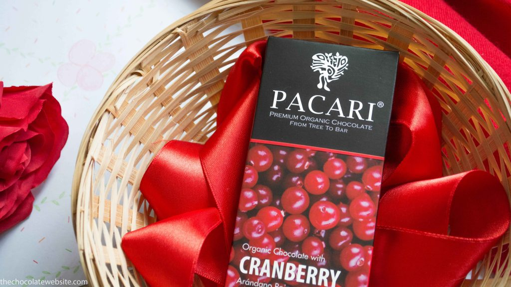 Pacari Cranberry Chocolate - The Chocolate Website Photo