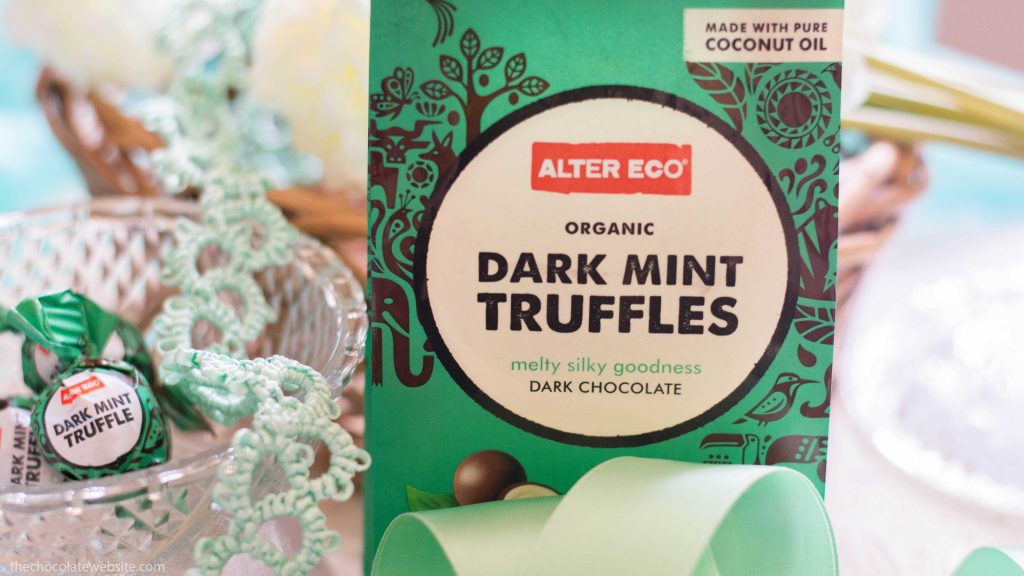 National Chocolate Mint Day Alter Eco Truffles