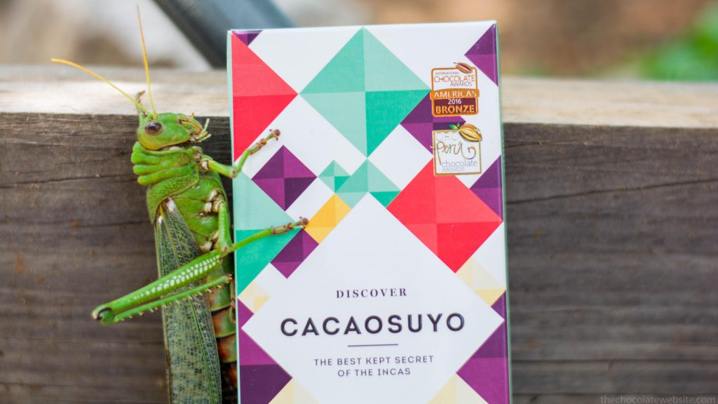 Cacaosuyo Peru Chocolate with Grasshoppe