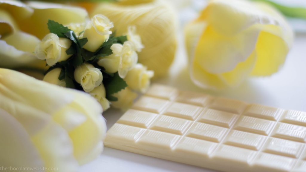Castronovo White Chocolate With Lemon Unwrapped Yellows Still Life Photo