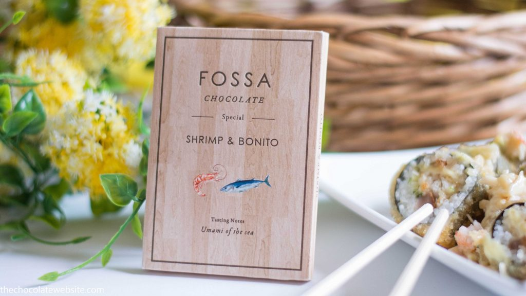 Fossa Chocolate Shrimp and Bonito Sushi Still Life